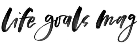 Life Goals Mag logo